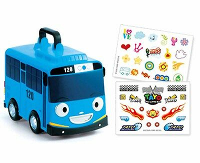 Tayo the Little Bus Mini Car Carrier 12 Storage Toy Character Children Kids Gift