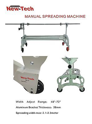 "Cloth/fabric Spreader Machine ,Expandable 48"" to 72"",complete set ship from USA"