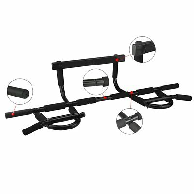 Home Exercise Gym Door Bar Pull Up Chin Up Arms Shoulder Body Workout Fitness UK