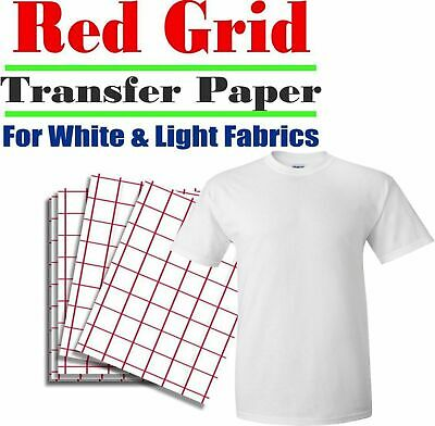 heat transfer paper light t shirt inkjet iron on heat press pk 100