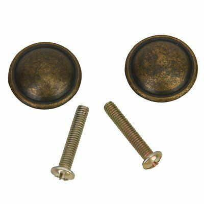 2pcs Antique Cabinet Drawer Bin Drop Pull Knob Handle T4A4