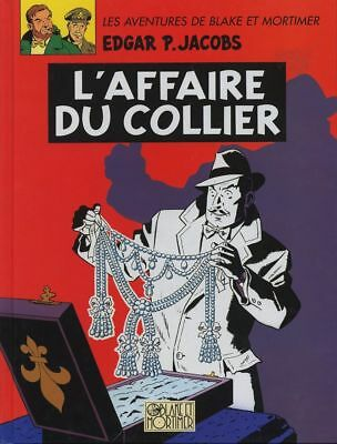 Album de Luxe Blake et Mortimer L'affaire du collier