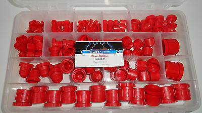 Hydraulic JIC Plastic Cap and Plug Kit Set 164pcs 7-Sizes