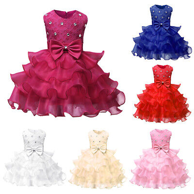 Baby Flower Girl Birthday Wedding Bridesmaid Pageant Graduation Formal Dress Lot