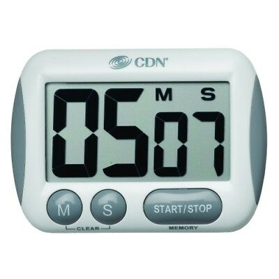 CDN TM15 Kitchen Cooking Timer with an Extra Large Display. NEW!