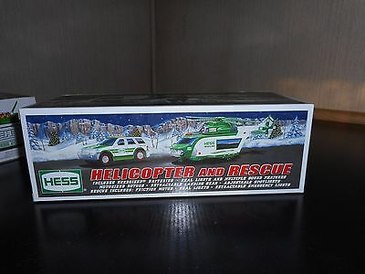 Hess Truck 2012 Helicopter And Rescue Case Fresh