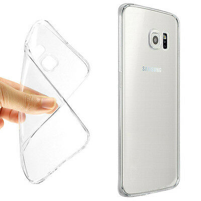 Ultra-Thin Soft TPU Clear Protector Skin Back Case For Samsung Galaxy S7/S7 Edge