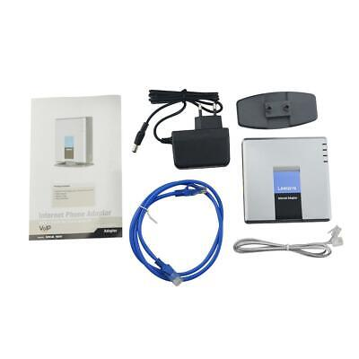 Unlocked VoIP Gateway Router ATA linksys PAP2T with 2 phone ports Phone Adapter