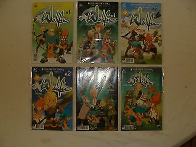 Lot Of 5 Wakfu  1 2 4 + 3 Variants - Hit Tv Show - Vf/nm 9.0