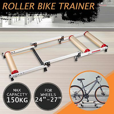 Bike Roller Trainer Parabolic Bicycle Cycling Training Exercise Stand Indoor