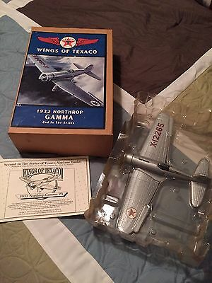 Wings of Texaco 1932 Northrop Gamm Model Airplane Coin Bank