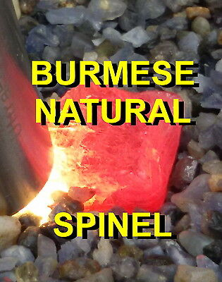 Spinel Red Mogok Burmese Approx 48 Cts / 19.5X15X14 Mm Natural Unheated