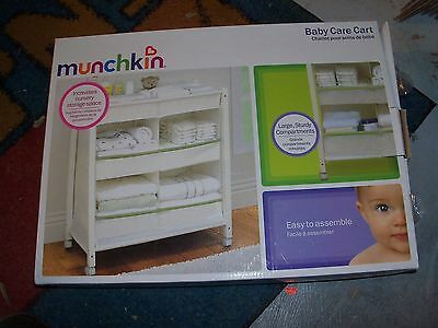 Munchkin  Baby Care Cart , New In The Box