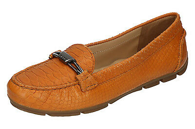 Scarpe GEOX MARVA C d4243c Scarpe Basse Slipper donna Marrone Tg. 38 UK 5