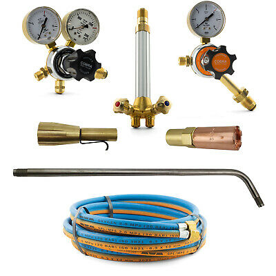 LPG Super Heating Torch Kit - SHP1+ Mixer + 700mm Barrel - 5m Hose - Oxy