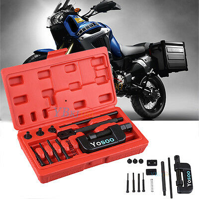 13PCS Chain Cutter Breaker Rivet Tool Kit ATV For Bicycle Motorcycle With Case A