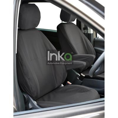 Mercedes Benz Vito & V Class INKA Front Fully Waterproof Seat Covers Black MK 3