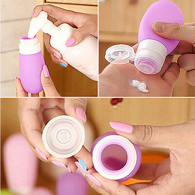 100/50xPortable Silicone Travel Packing Press Bottle For Lotion Shampoo Bath Lot