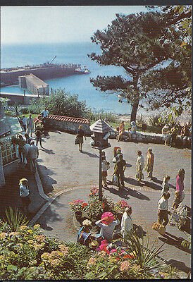 Channel Islands Postcard - Piazza, Herm Harbour  H959