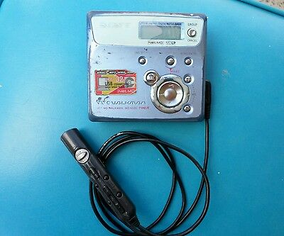 Sony MZ-n505 type r  Minidisc Player Recorder MD netmd lp with remote