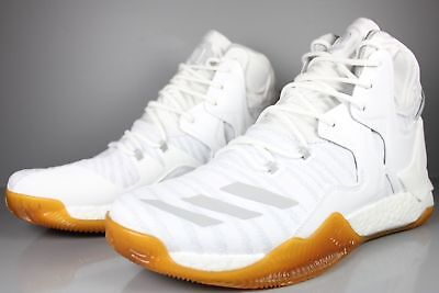 low priced 4b078 0994c adidas D Rose 7 Primeknit White Gum NEW Men s Basketball Shoes   B49512