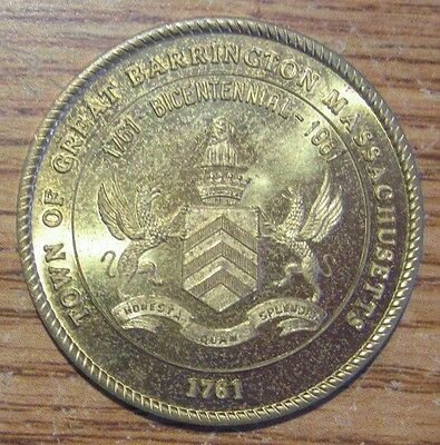 Town of Great Barrington Mass. Good For 50¢ In Trade Medal Erie, Pa