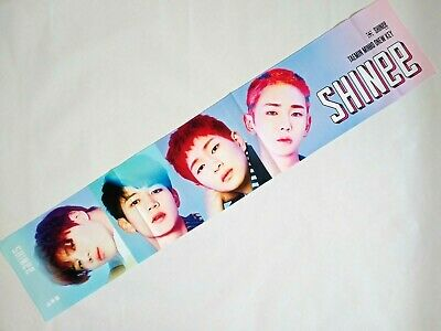 SHINEE KPOP PHOTO Cheer Slogan Towel MinHo TaeMin Onew JongHyun Key Korean  Goods