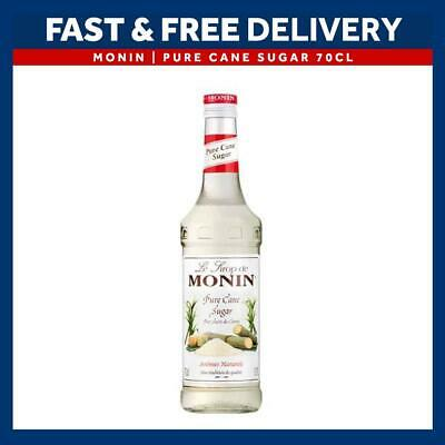 MONIN Coffee Syrups - 70cl Glass PURE CANE SUGAR Syrup - USED BY COSTA COFFEE