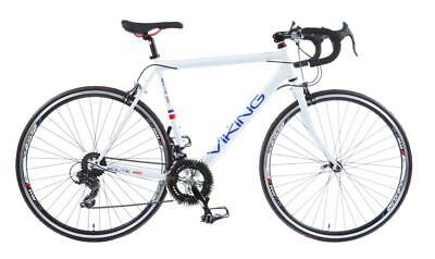 2017 Viking Route 66 Gents 700c 14 Speed Road Racing Bike Bicycle White 3 Sizes