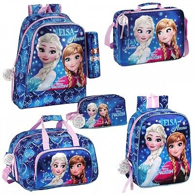 Disney Frozen Backpack Rucksack Lunch Sports Bag Girls School Travel Nursery