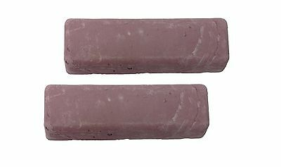 Polishing Compound Pink High Shine 2-bars for denture materials acrylics