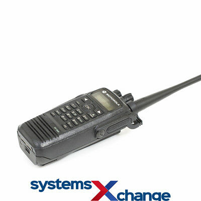 Motorola DP3600 UHF Digital Two Way Walkie Talkie Radio **Incl some NEW Parts**