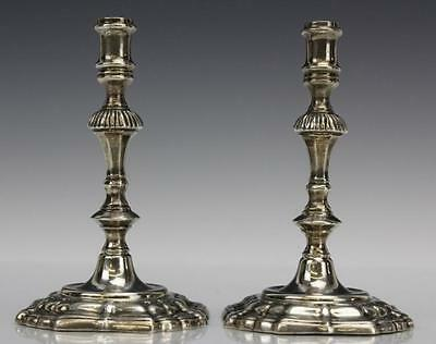 PAIR of Tiffany & Co. Sterling Silver Candlesticks Lot 187