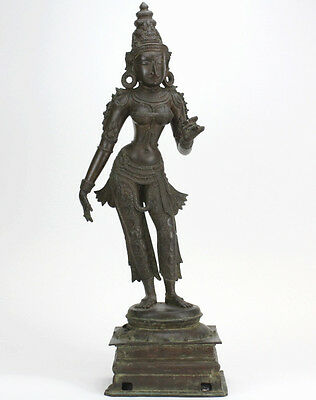 Indian Parvati Bronze Statue from The Bass Museum Lot 209