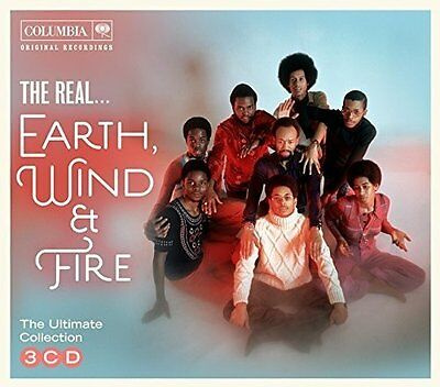 EARTH WIND & FIRE 'THE REAL...' (Best Of / Greatest Hits) 3 CD SET (2017)