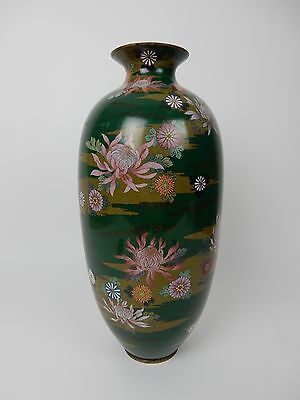Large Antique Japanese Cloisonne Vase 19 inches!!  AMAZING PIECE
