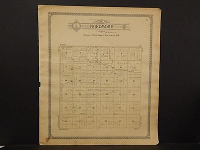North Dakota, Foster County Map, c.1910, Nordmore Township, K9#13