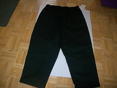 White Swan Five Star Chef Apparel Unisex Cotton Pull-On Baggy Pant 2X