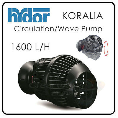 HYDOR Koralia Circulation WAVE PUMP Reef Aquarium MARINE FISH TANK Wavemaker NEW