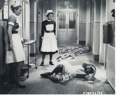 Shirley Eaton SIGNED photo - J1041 - Carry On Nurse