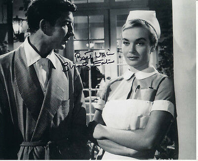Shirley Eaton SIGNED photo - J1063 - Carry On Nurse