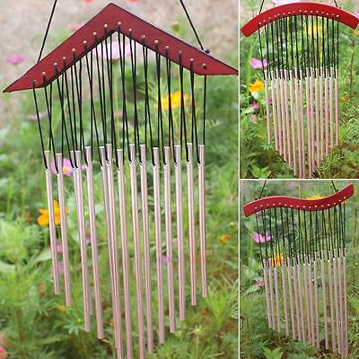 15 Tubes Relaxing Windchime Chapel Church Bells Garden Outdoor Wind Chimes Decor