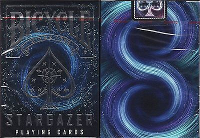 Stargazer Deck Bicycle Playing Cards Poker Size USPCC Custom Limited New Sealed