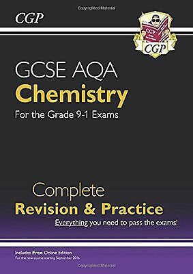 New Grade 9-1 GCSE Chemistry AQA Complete Revision & Practice with Online Edi...