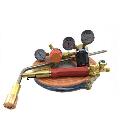 LPG Super Heating Torch Kit - SHP2 + Mixer + 450mm Barrel - 5m Hose - Oxy
