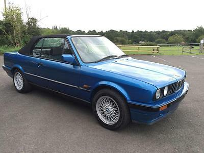 1992 Bmw 3 Series 1.8 318I 2D 115 Bhp Design Convertible Limited Edition E30 Is