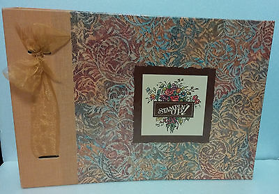 ~Stampin' Up~Rubber Stamp Crafts Idea Book~1996 Album~Paper Pattern Templates~