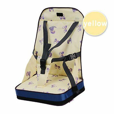 Fairy Baby Portable Feeding Booster Seat Dining Toddler Travel High Chair