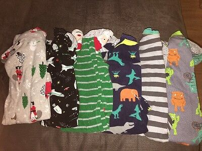 Baby Boy Sleeper/Footed Pajamas Size 12 & 18 Months