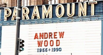 Andrew Wood - March 20 1990 Seattle Paramount Theater Memorial Service Booklet